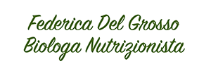 Federica Del Grosso Biologa Nutrizionista